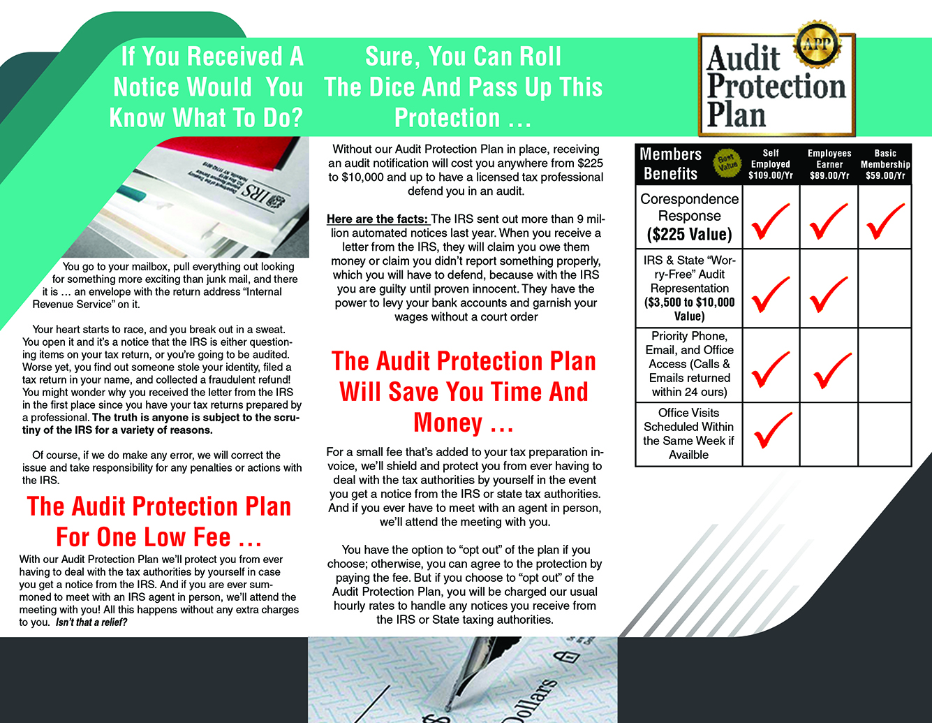 Tax Audit Protection Plan
